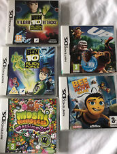5 Nintendo DS Games, Used