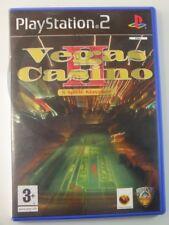 !!! PLAYSTATION PS2 SPIEL Vegas Casino II, gebraucht aber TOP !!!