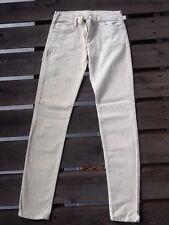 pantalon velour fines cotes Les petites couleur craie taille 36/38