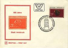 Ersttagsbrief Österreich MiNr. 1647, 800 Jahre Stadt Innsbruck
