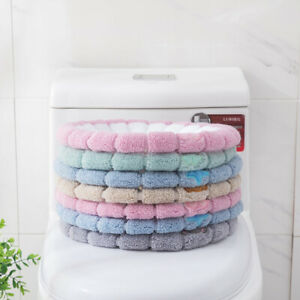 Toilet Seat Mat Cover Bathroom Winter Thickness Washable Durable Comfortable