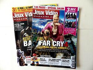 """Magazin """" Video Games 2 Zahlen Jahr 2014 Ohne Poster"""