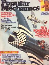 11 MONTHS OF 1981 POPULAR MECHANICS MISSING OCTOBER  (O7-6)