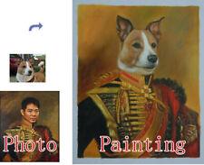 Pet Portrait,Custom Pet painting,Oil Portrait,Hand Painted Oil Painting