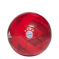 Adidas Fußball FC Bayern Ball Spiel Weich Training Fußball Größe 5 CW4155 Neu