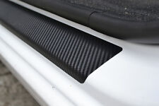 Carbon Film Door Sill Protectors for Opel Vivaro 2001- Vinyl Threshold Foils