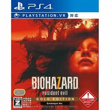 Biohazard 7 Resident Evil Gold Edition Grotesque SONY PS4 PLAYSTATION 4 JAPANESE
