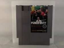 MIKE TYSON'S PUNCH-OUT NES Nintendo Scratched