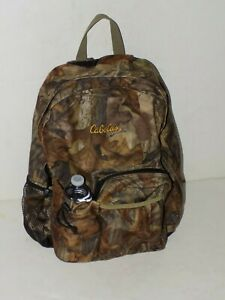 CABELAS Advantage Timber Camo Camouflage  Backpack Camping & Hunting