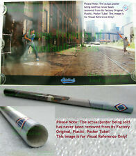 NIKE STICKBALL Poster ☆ Dale Murphy Dwight Gooden WTC Brooklyn Bridge OLD STOCK