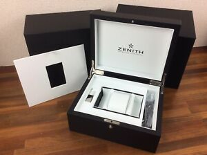 Zenith Watch Box Large Size + Accessories + FREE SHIPPING