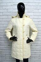 Giubbotto CALVIN KLEIN Donna Taglia Size L Cappotto Giubbino Jacket Woman Bianco