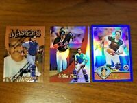 MIKE PIAZZA 1993-2000 TOPPS/BOWMAN NEW YORK METS (15-CARD PLAYER LOT)