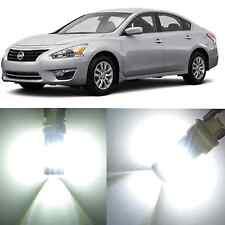 Alla Lighting Front Signal Light 3457 White LED Bulbs for 2007~14 Nissan Maxima