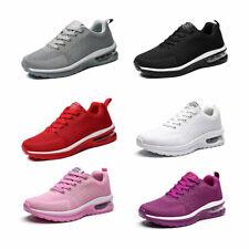Women Men Sport Sneakers Air Cushion Slip on Walking Jogging Running Sock Shoes