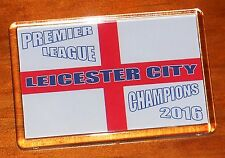 * SALE PRICE * Leicester City Cross of St George England Champions fridge magnet