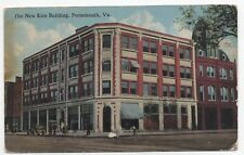 EARLY 1916 Kirn Building Portsmouth Virginia VA Posted DB