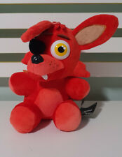FIVE NIGHTS AT FREDDY'S FOXY RED PLUSH TOY WITH TAGS- HORROR GAME CHARACTER TOY!