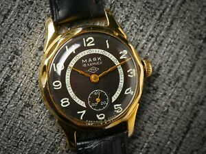 Vintage watch MAYAK Majak USSR Soviet gold plated mechanical 16 jewels