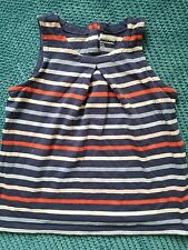 girl summer blue striped top tshirt 4-5 5 years from GAP