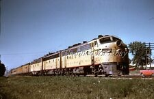 Milwaukee Road #105C DUPE 35MM SLIDE-Railroad