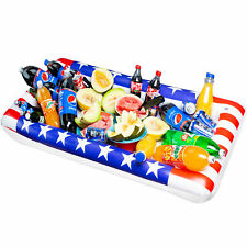 New listing American Usa 4th July Inflatable Cooler Serving Bar Party Food Drink Pool Beach