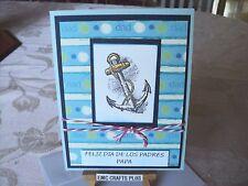 FELIZ DIA DE LOS PADRES PAPA SPANISH HANDMADE CARD FATHER'S DAY #1605