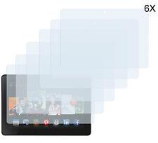 6 x Schutzfolie Amazon Kindle Fire HDX 8.9 Klar Folie Clear Displayschutzfolie