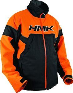 NOS HMK 460-3243M SUPERIOR WINDPROOF WATERPROOF SNOW JACKET ORANGE SIZE MENS MD