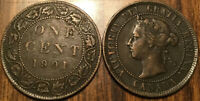 1901 CANADA LARGE 1 CENT COIN PENNY G+ BUY 1 OR MORE ITS FREE SHIPPING!