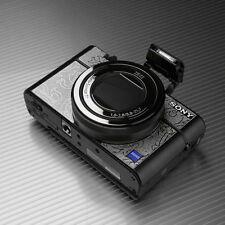 Gariz Metal Skin Sticker Sony RX100iii RX100IV MS-RX100M3FS Flora Silver