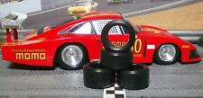 1/32 URETHANE SLOT CAR TIRE 2pr PGT-20125LM fit CB Design 17x8 Classic Steel