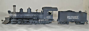 Sn3 Brass Pacific Fast Mail RGS K-27 #455, Pro Painted, Weathered , ATW