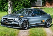 MERCEDES C CLASS C63 AMG V8 BiTurbo MASSIVE SPEC HRE AKRAPOVIC 100k plus new