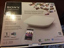 Sony LLS-201 Wireless Network Storage 1 TB Personal Content Station
