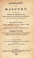 70. Preston - Illustrations of Masonry  14th Edition London 1829