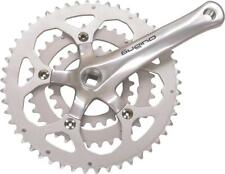 Sugino XD600 8/9-Speed 50/36/24t 152mm Square Taper Crankset 110/74mm BCD