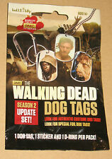 The Walking Dead Dog Tag & Sticker Pack Nuovo/Scatola Originale