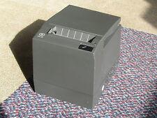 NCR RealPOS 7197 Serial USB Thermal Receipt Printer 7197-2001-9001 Inc PSU Black