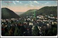 Friedrichroda Thüringen Postkarte 1914 gelaufen Panoramaansicht Totale