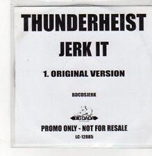 (BK587) Thunderheist, Jerk It - DJ CD