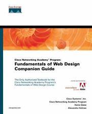 Cisco Networking Academy Program: Fundamentals of Web Design Companion Guide