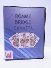 LOT 14528 NSV Nürnberger Romme Bridge Canasta 2x55 Blatt im Etui blau Card Spiel