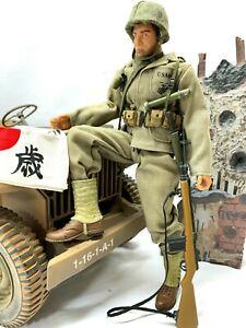 "Ultimate Soldier WWII USMC Jungle Fighter Marine 12"" GI Joe Dragon Marine 1:6"