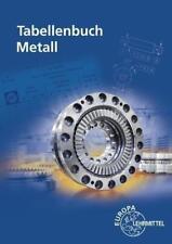 Tabellenbuch Metall von Falko Wieneke, Claudius Scholer, Andreas Stephan, Stefan Oesterle und Friedrich Näher (Taschenbuch)