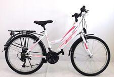 "24 zoll Kinderfahrrad Mädchenfahrrad 24""Damen Cityfahrrad  city bike  Weiss  Neu"