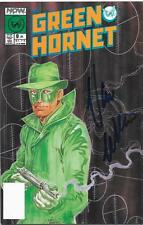 VAN WILLIAMS AUTOGRAPH THE GREEN HORNET SIGNED ISSUE 5 COMIC BOOK