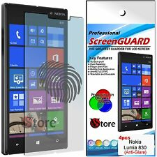 4 Films Matt For Nokia Lumia 830 Antiglare Anti-fingerprint Film Screen