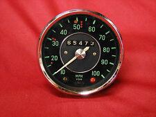 1965 VDO AUTO UNION DKW AUDI 100 MPH SPEEDOMETER