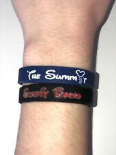 2019 Cheerleading Summit Silicone Bracelet No Bow Cheer Team Gift Wristband